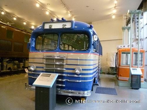 東武博物館キャブオーバーバス-min