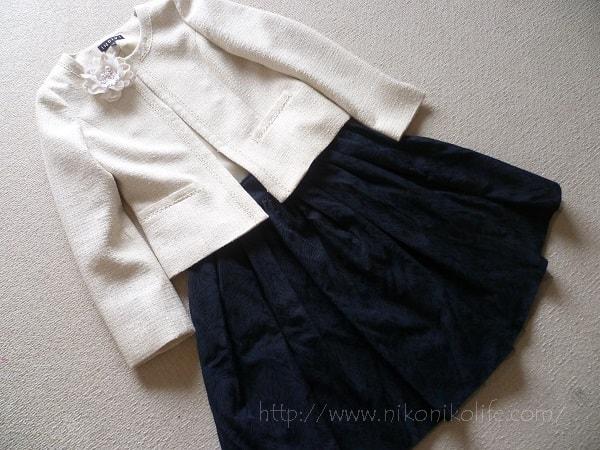 幼稚園の入園式に向けて母親の洋服を購入!行動はお早めに