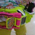 仮面ライダーエグゼイドにドはまりの3歳児、ゲーマドライバーで変身特訓をする