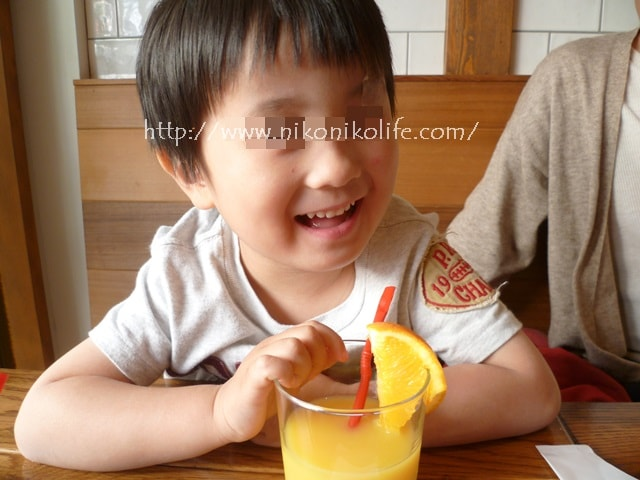 アロハベイビーオレンジジュース