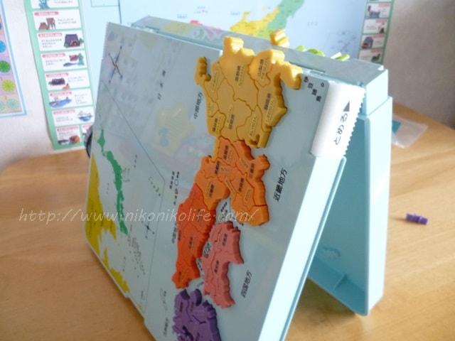 くもん日本地図パズル