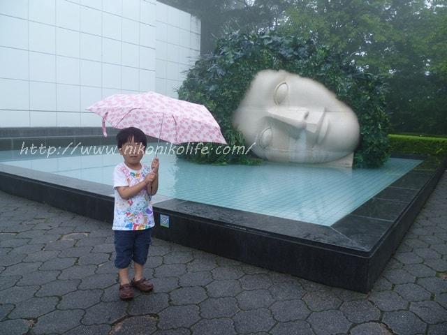 箱根彫刻の森美術館嘆きの天使