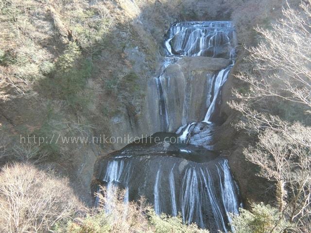 冬の袋田の滝
