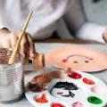 5歳(年中)絵画教室の体験をする