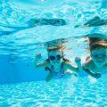年長さん(5歳)、春の短期水泳教室に参加する