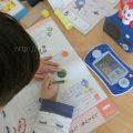チャレンジスタートナビにドハマりする5歳児(年長)